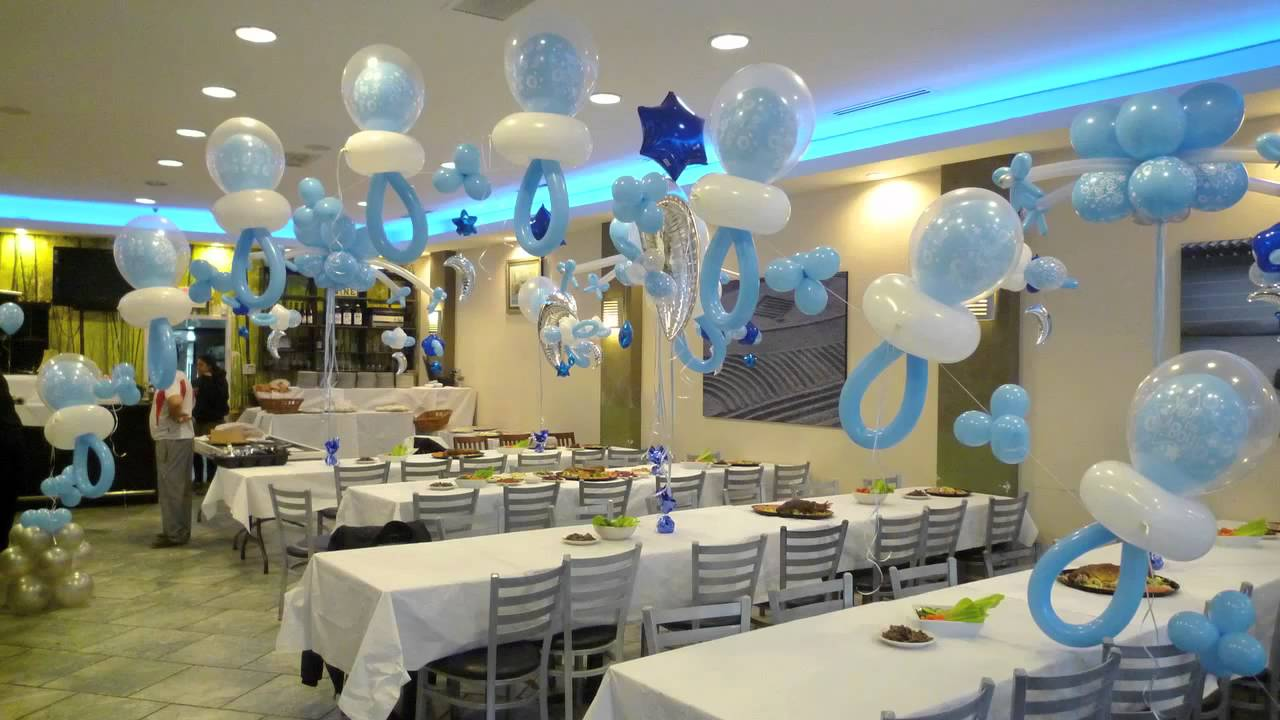Baby shower decoration ideas for boy and girls unique for Baby shower hall decoration